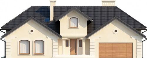 Projekt domu L-6192 - elewacja