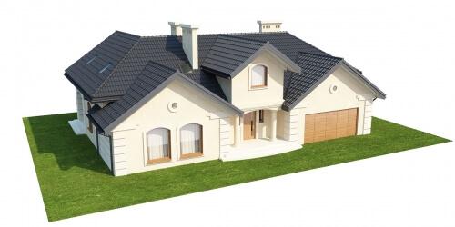 Projekt domu L-6192 - model