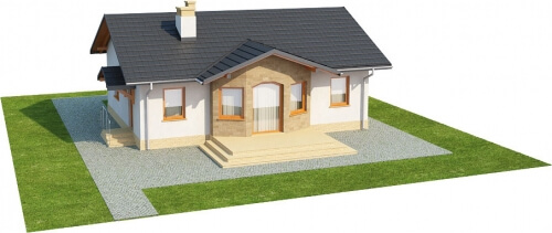 Projekt domu L-6196 - model