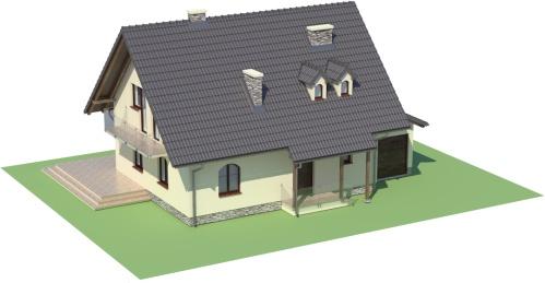 Projekt domu DM-6006 - model