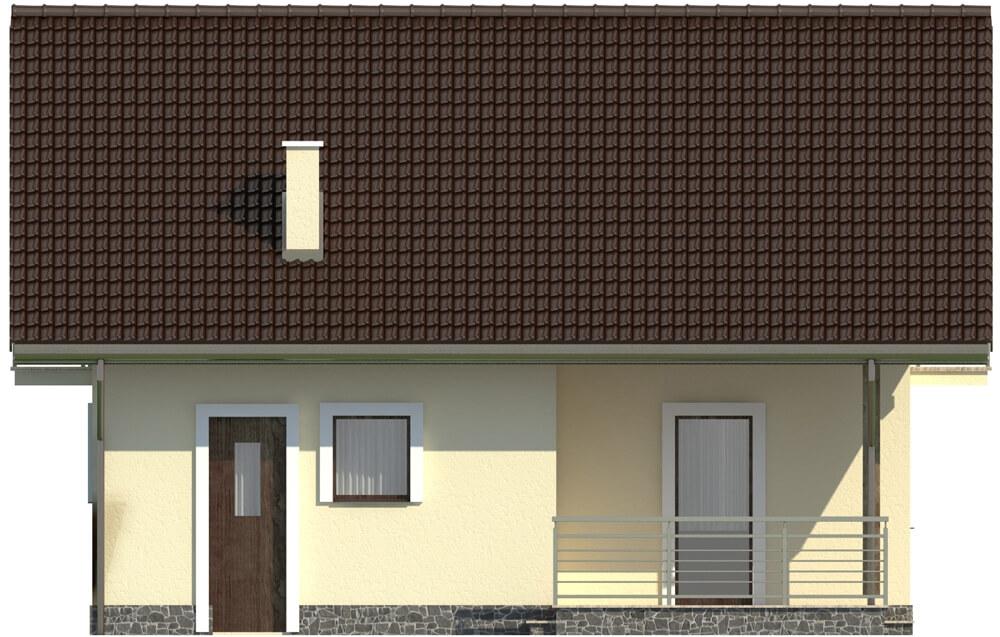 Projekt domu L-6197 - elewacja
