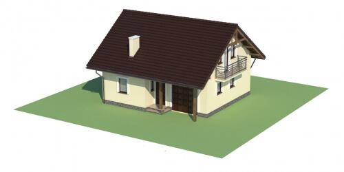 Projekt domu L-6197 - model