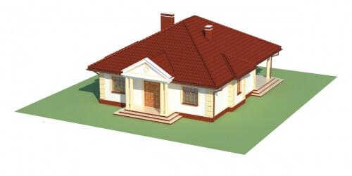 Projekt domu L-6209 - model
