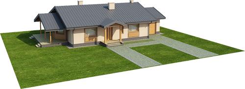 Projekt domu L-6210 - model