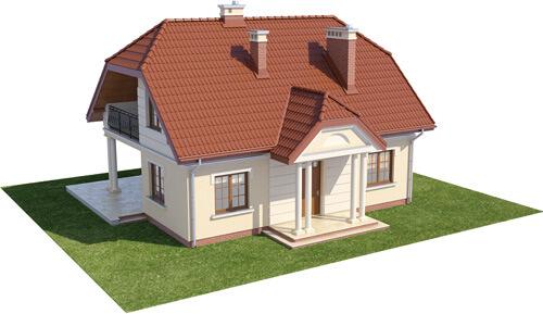 Projekt domu L-6214 - model