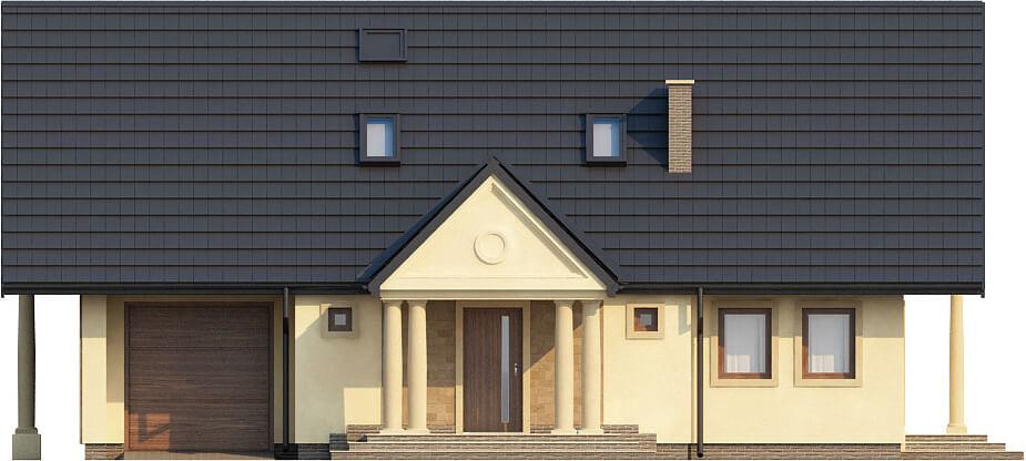 Projekt domu L-6216 - elewacja