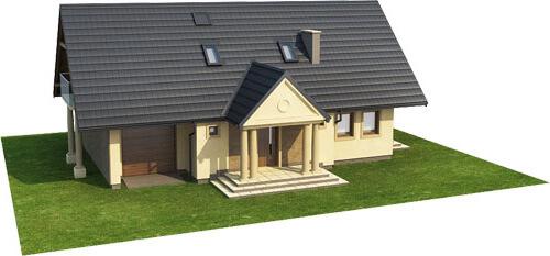 Projekt domu L-6216 - model