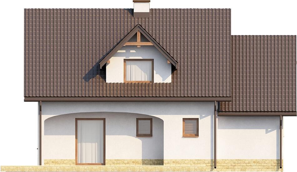 Projekt domu L-6218 - elewacja