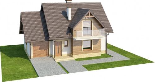 Projekt domu L-6218 - model