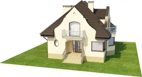 Projekt domu L-6219 - model