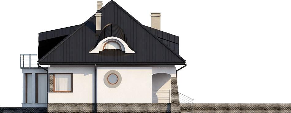 Projekt domu L-6221 - elewacja