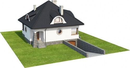 Projekt domu L-6221 - model
