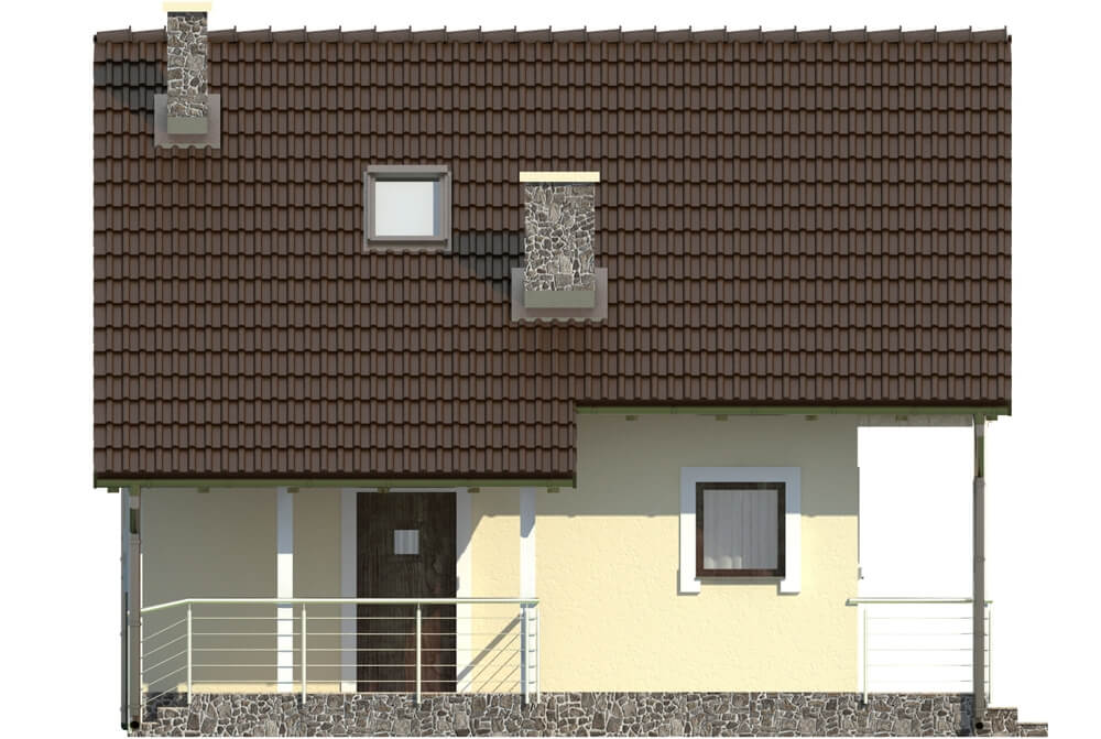 Projekt domu L-6223 - elewacja