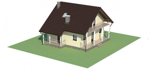Projekt domu L-6223 - model