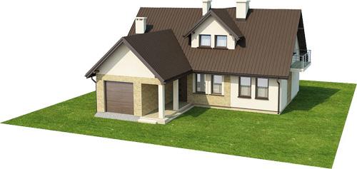Projekt domu L-6229 - model