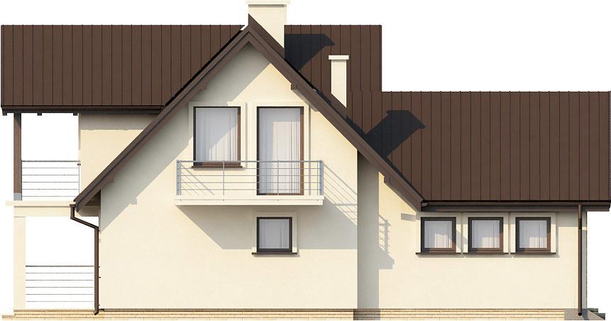 Projekt domu L-6229 - elewacja