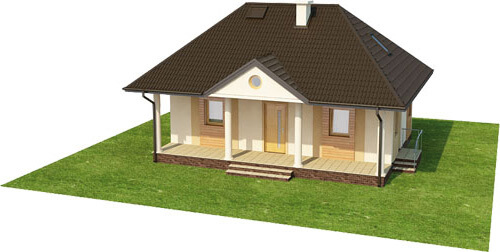 Projekt domu L-6233 - model