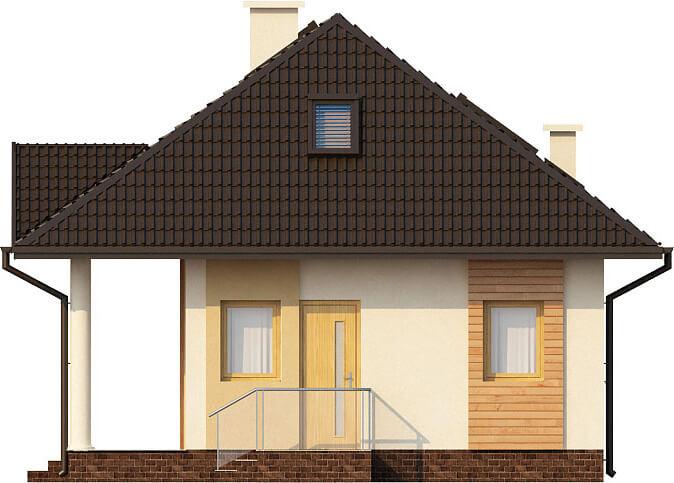 Projekt domu L-6233 - elewacja