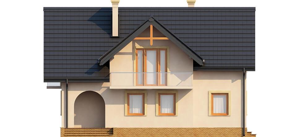 Projekt domu L-6236 - elewacja