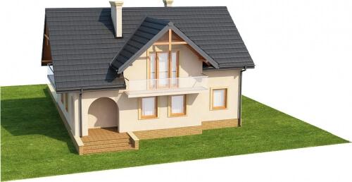 Projekt domu L-6236 - model