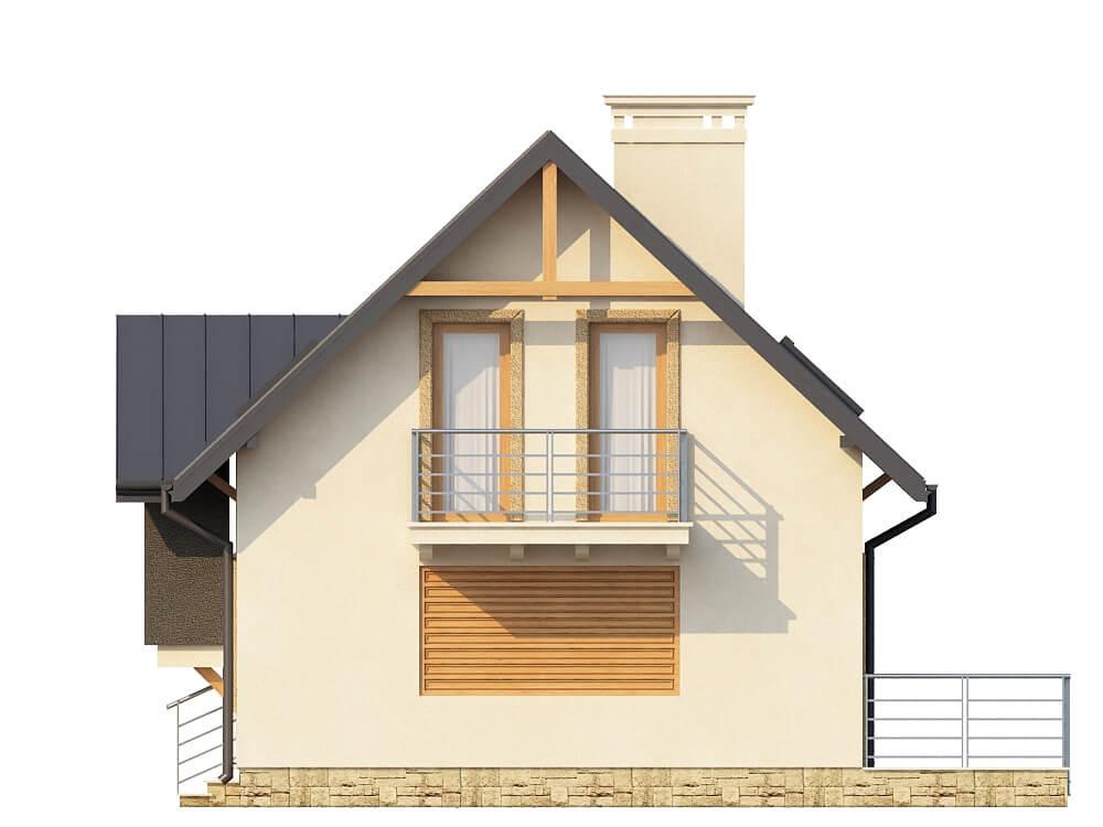 Projekt domu L-6251 - elewacja