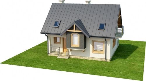 Projekt domu L-6251 - model