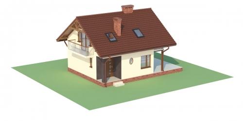 Projekt domu L-6254 - model