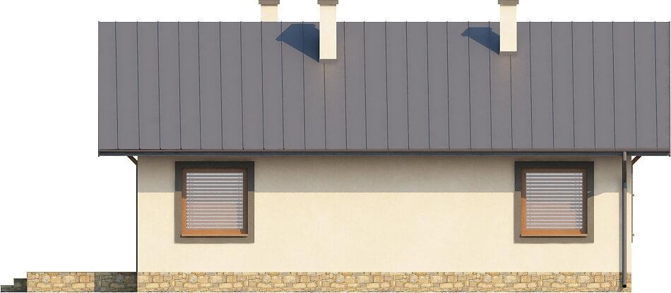 Projekt domu L-6255 - elewacja