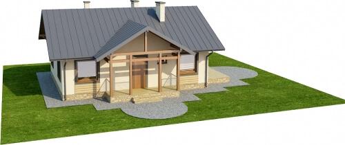 Projekt domu L-6255 - model