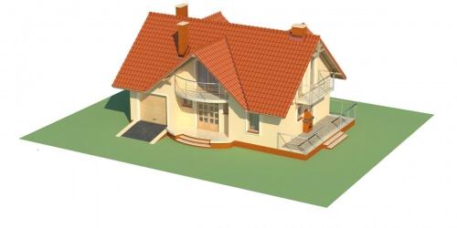 Projekt domu L-6256 - model