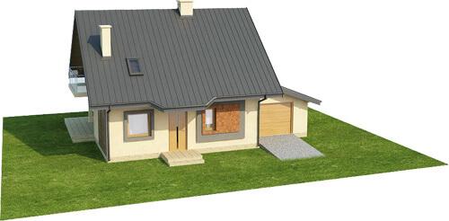 Projekt domu L-6259 - model
