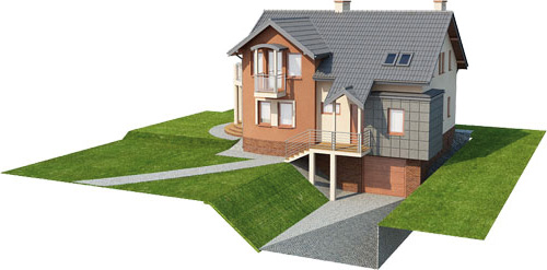 Projekt domu L-6267 - model