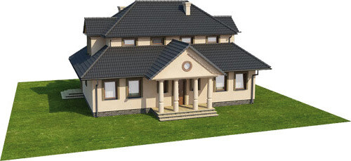 Projekt domu L-6276 - model