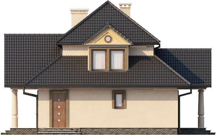 Projekt domu L-6276 - elewacja