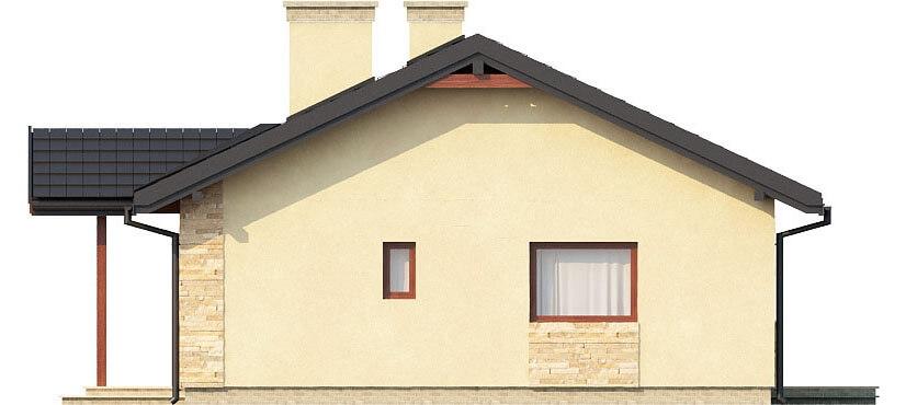 Projekt domu L-6306 - elewacja