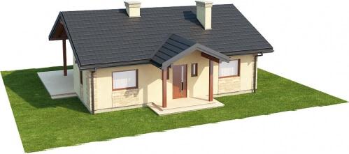 Projekt domu L-6306 - model