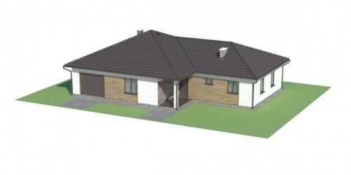 Projekt domu DM-6030 - model