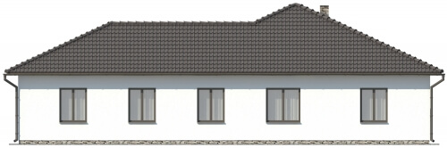 Projekt domu DM-6030 - elewacja