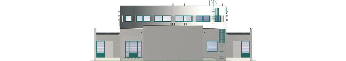 Projekt LK-10 - elewacja