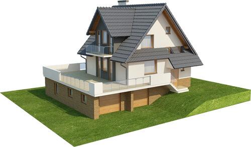 Projekt domu DM-6031 - model