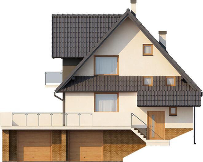 Projekt domu DM-6031 - elewacja