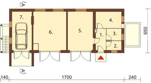 Projekt ZG-09 - rzut