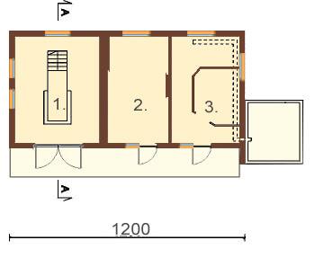 Projekt ZG-10 - rzut