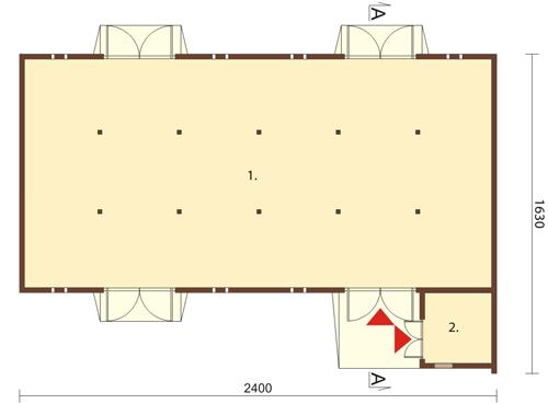 Projekt ZG-13 - rzut