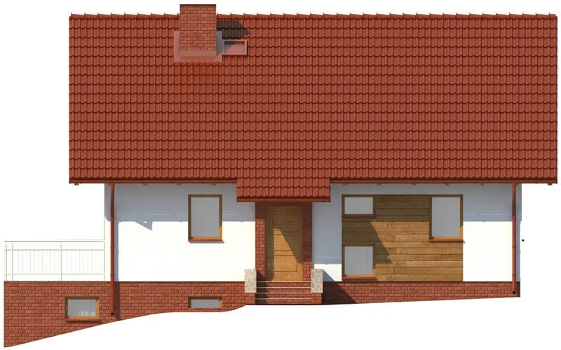 Projekt domu DM-6036 - elewacja