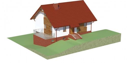 Projekt domu DM-6036 - model