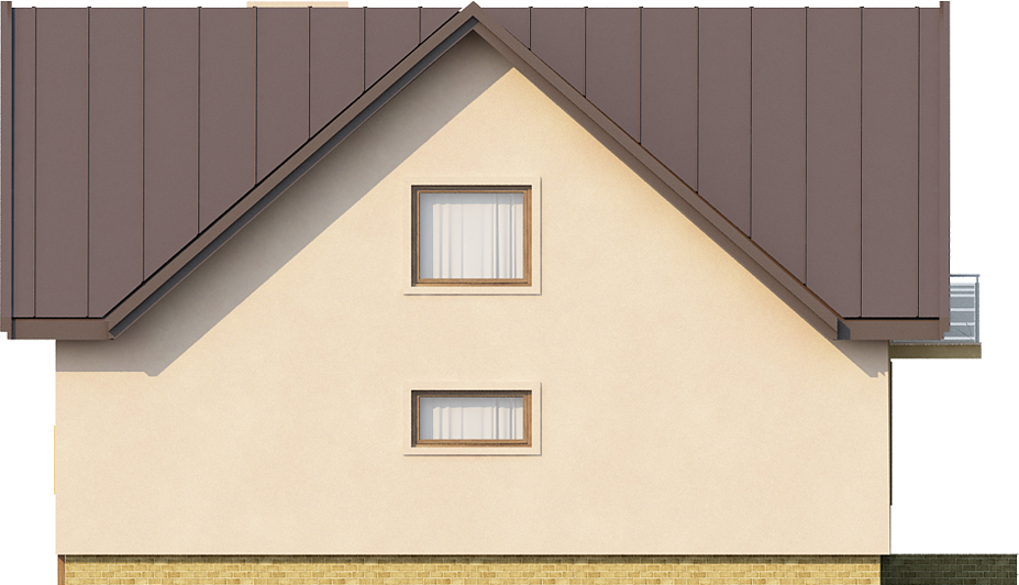 Projekt domu DM-6245 - elewacja