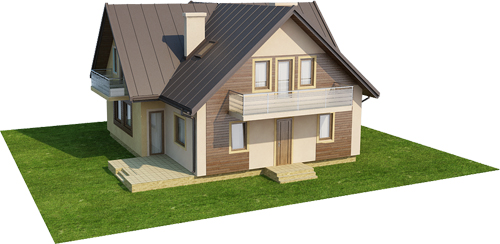 Projekt domu DM-6245 - model