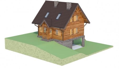 Projekt domu DM-6261 - model