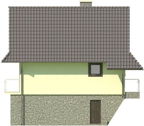 Projekt domu DM-6038 - elewacja